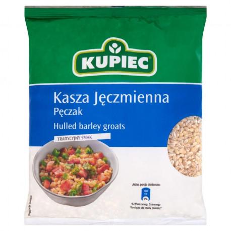 KUPIEC - hulled barley groats, loose, net weight: 400 g