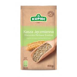 Kupiec - medium-grained pearl barley groats, net weight: 400 g