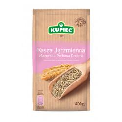 Kupiec - kasza jęczmienna mazurska drobna (folia), masa netto: 400 g