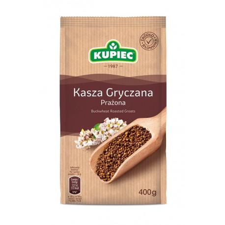 Kupiec - buckwheat roasted groats, net weight: 400 g