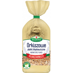 Szczytno Premium - spelt instant flakes, whole grain, net weight: 14.11 oz
