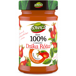 Łowicz - 100% fruit jam, rosehip, net weight: 8.29 oz