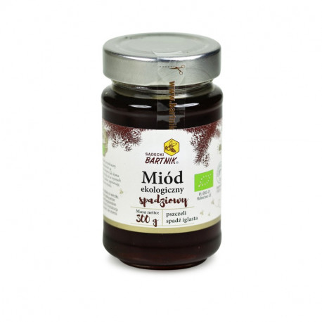 Sądecki Bartnik - organic honeydew honey, net weight: 10.58 oz