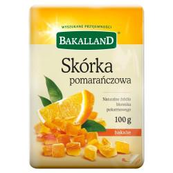Bakalland - orange peel, net weight: 100 g