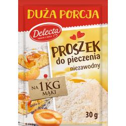 Delecta - baking powder, net weight: 30g