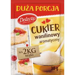 Delecta - vanillin sugar, net weight: 30g