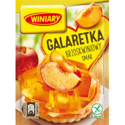 Winiary - jelly with PEACH flavor, net weight: 71 g