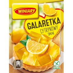 Winiary - jelly with LEMON flavor, net weight: 71 g