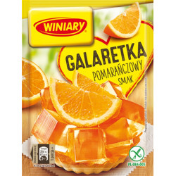 Winiary - jelly with ORANGE flavor, net weight: 71 g