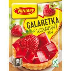 Winiary - jelly with STRAWBERRY flavor, net weight: 71 g