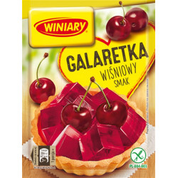 Winiary - jelly with CHERRY flavor, net weight: 71 g