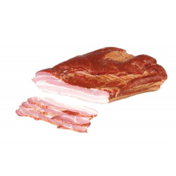 Hunter style bacon, net weight: 1 lb