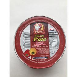 Profi - village pate with paprika, net weight: 4.6 oz.