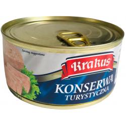 Krakus - spiced minced pork coloured with paprika, with pork skin, net weight: 10.5 oz.