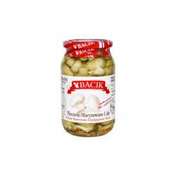 Bacik - pickled mushrooms champignons whole, net weight: 30 oz (840 g)