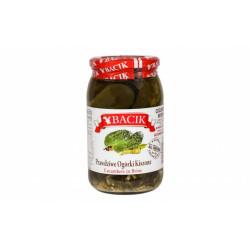 Bacik - cucumbers in brine, net weight: 30 oz (850 g)