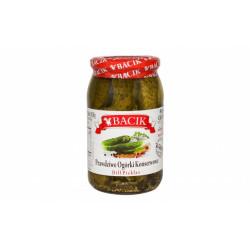 Bacik - dill pickles, net weight: 30 oz (850 g)