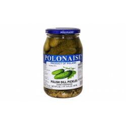 Polonaise - polish dill pickles, net weight: 30 oz (850 g)
