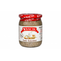 Bacik - sourdough for white borscht, net weight: 17.6 oz (500 g)
