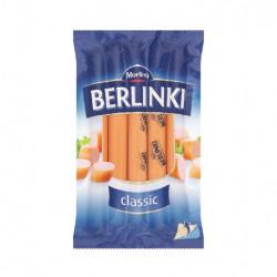 Morliny - BERLINKI classic hot dogs, net weight: 8.8 oz (250 g)