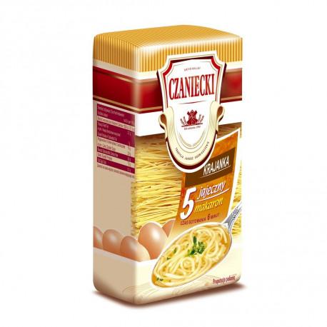 Czaniecki - 5 eggs homemade noodles, net weight: 8.8 oz