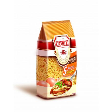 Czaniecki - 5 eggs thin thread noodles, net weight: 8.8 oz