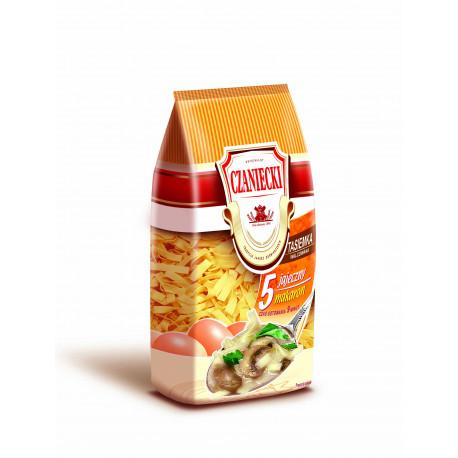 Czaniecki - 5 eggs ribbon noodles, net weight: 8.8 oz
