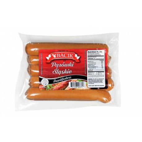 Bacik - frankfurters, net weight: 1 lb