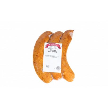 Bacik - barbeque kielbasa chubs, net weight: 1 lb