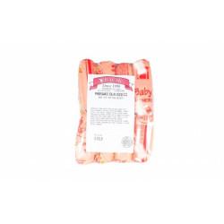 Bacik - baby veal & pork wieners chubs, net weight: 0.45 lb