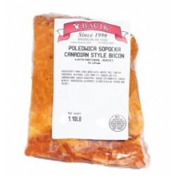 Bacik - Canadian style bacon chubs, net weight: 0.75 lb