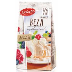 Delecta - meringue cake mix, net weight: 9.17 oz