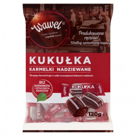 Wawel - caramels with cocoa filling, net weight: 4.23 oz