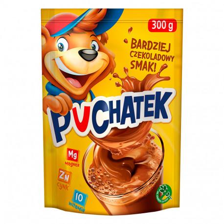 Puchatek - instant cocoa drink powder, net weight: 10.58 oz
