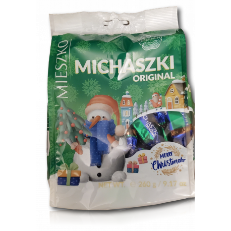 Mieszko - chocolate candy with peanut filling, net weight: 9.17 oz