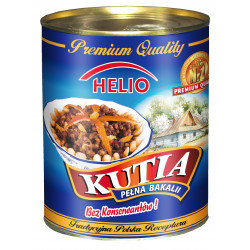 Helio - kutia, poppy seed filling with dried fruits, net weight: 1 lb 13.98 oz