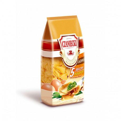 Czaniecki - łazanki 5 eggs noodles, net weight: 8.82 oz