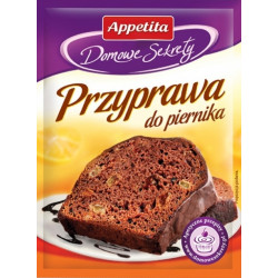 Appetita - gingerbread seasoning, net weight: 0.71 oz