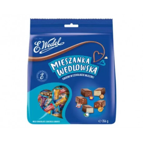 Wedel - milk chocolate covered candies mix, net weight: 12.56 oz