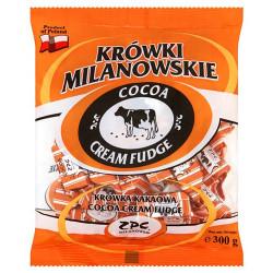 Milanówek - cocoa cream fudge, net weight: 10.58 oz