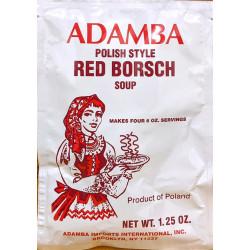 Adamba - Polish Style Red Borscht Soup Mix, net weight: 1.25 oz