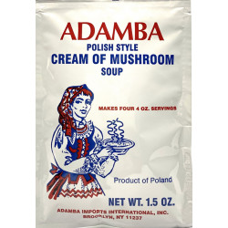 Adamba - Polish Style Cream of Mushroom Soup Mix, net weight: 1.5 oz