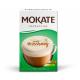 Mokate - Cappuccino, instant coffee, HAZELNUT flavor, net weight: 5.6 oz (0.7 oz x 8)