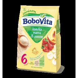 BoboVita - semolina 3 fruits, after 6th month, net weight: 6.36 oz