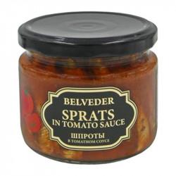 Belveder - sprats in tomato sauce, net weight: 9.9 0z