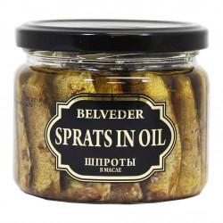 Belveder - sprats in oil, net weight: 8.8 oz