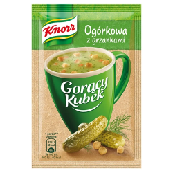 Knorr - instant pickle soup with croutons, net weight: 0.46 oz